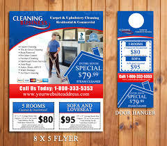 carpet cleaning flyer homepage business marketing hanger and business