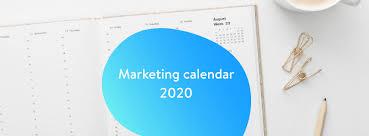 Free ecommerce marketing calendar for 2020 | Shopware