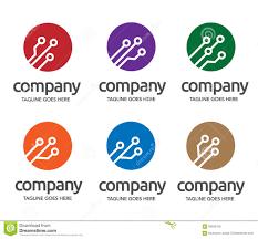 Digital Electronics Logo Stock Vector Illustration Of Blue 59559155