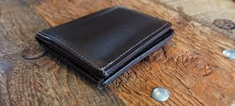 north star leather small bifold wallet with window 24 95