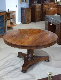 antique round centre table