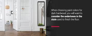 best hardwood wall color combinations