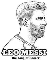 21 Awesome Messi Coloring Pages Ideas