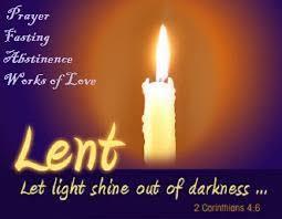 Image result for 40 days of lent