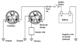 vdo voltmeter gauge wiring diagram wiring diagrams vdo voltmeter wiring diagram digital multiple gauges ilration
