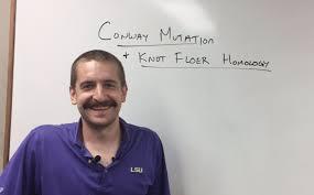 "Scott Baldridge on Twitter: ""Peter Lambert-Cole, one of my past grad  students, is giving a talk on Conway mutations and knot Floer homology.  He's at Georgia Tech.… https://t.co/zkTQ1xJyIK"""
