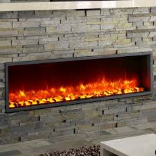 dynasty dy bt55 55 built in led wall mount electric fireplace insert