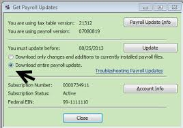 disk delivery service to install a payroll tax update from a cd