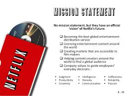 Case Study  Netflix Netflix is a company known for their ability to allow  people to