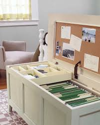 organized home office. It Serves You Well In An Ultra-small Home Office And Can Be Also Used As Additional Seating Option. Organized A