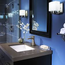 Blue Bathroom Ideas that Bring Different Visual Appearance