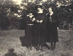 Bertie Mae Massey, Myrtle Robertson, and Jennie Cochran |  FamilyOldPhotos.com, Genealogy and History Photographs, Old Photos