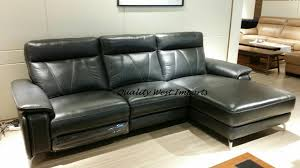 real leather electric power reclining