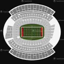 Massillon Tiger Stadium Seating Chart Paradigmatic Paul Brown Seating Map Denver Mile High Stadium