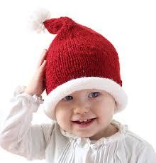 Santa Hat Pattern Extraordinary Stockinette Baby Santa Hat Pattern AllFreeKnitting