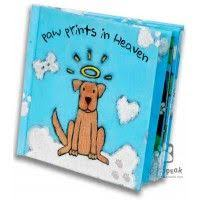 paw prints in heaven sympathy book unique sympathy gifts dog picture frames