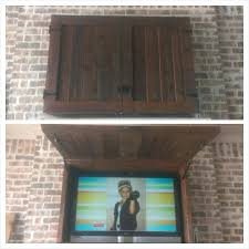 outdoor tv enclosure diy outdoor cabinet for home remodeling ideas with outdoor lcd tv enclosure diy