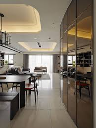 Contemporary Taiwan Apartment Showing Luxury And Simplicity In - Nice apartment building interior