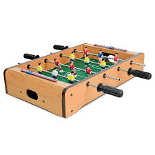Miniature Wooden Foosball Table Game Mini Table Top Football Foosball Players Family Game Toy Kids Play 68