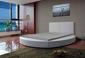 modern round beds. Delighful Modern Greatime B1159 Modern Round Bed Queen White White In Beds