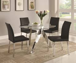 choosing glass dining room tables for small space  midcityeast