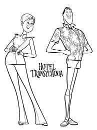 Hotel Transylvania Coloring Pages Free Book Hotel Transylvania