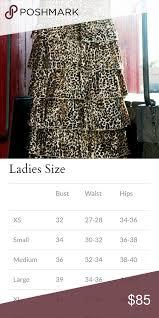 Jade Mackenzie Apparel Long Leapard Ruffle Skirt Jade