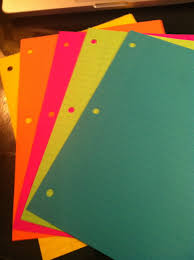 Bright Colored Lined Paperl Duilawyerlosangeles