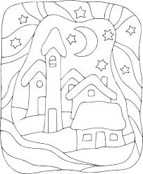 Coloriage Maison Enfant Imprimer