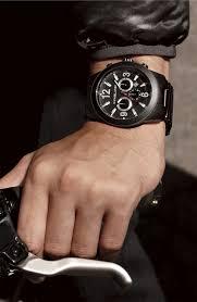 men watches michael kors large black chronograph bracelet watch men watches michael kors large black chronograph bracelet watch