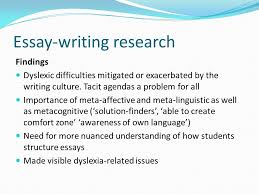 adshe conference workshop christine carter ppt  14 essay writing research findings dyslexic