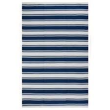 indo handwoven lucky bright white turkish sea blue stripe area rug 4 blue striped rug l26