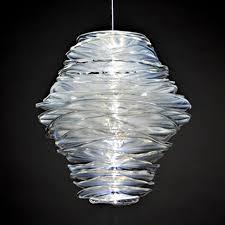 blown glass lighting. light nest led blown glass pendant lighting