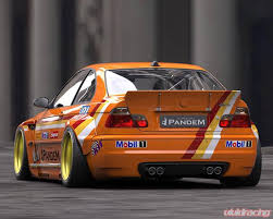 bmw m3 e46 wide body kit.  E46 Pandem Blister Full FRP Widebody Kit BMW E46 M3 Coupe 0106  Intended Bmw Wide Body P