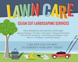 Lawn Mowing Ads Lawn Care Flyers Should You Use Them The Lawn Solutions