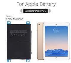 <b>YILIZOMANA For IPad Air</b> 2 Battery 7340mAh Li Ion Internal Original ...