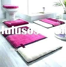 luxury bath rugs 4 piece bathroom rug set fancy 5 sets and target fieldcrest luxury bath rugs