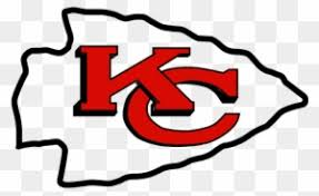 Unlike the 49ers' logo, kansas city's overlapping initials appear inside a white arrowhead instead of an oval and are surrounded by a thin black outline. Pretty Kc Chiefs Logo Clip Art Kansas City Chiefs Logos Kansas City Chiefs Logo Free Transparent Png Clipart Images Download