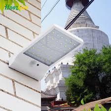 Hoozgee 450lm 36 Led Zonne Energie Straat Licht Pir Bewegingssensor
