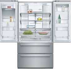 36 Refrigerators Bosch B21cl80sns 36 Inch Counter Depth 4 Door French Door