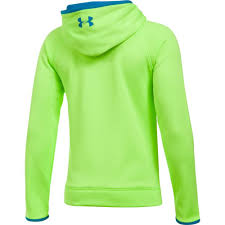 under armour shirts for boys. under armour boys af big logo hoody quirky lime under armour shirts for boys