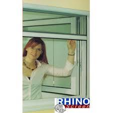 Insektenschutz Rollo Fliegengitter Netz Fenster 130x160cm Braun
