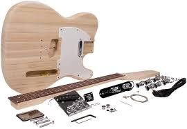 seismic audio sadiyg 02 tele style diy electric guitar kit