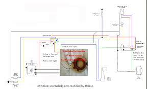 quand je freine ca fait des appels de phares !!! scootentole Residential Electrical Wiring Diagrams tu peux faire comme �a pour le klaxon