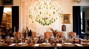 dining room service articles. bronson van wyck\u0026#39;s thanksgiving table arrangement dining room service articles i