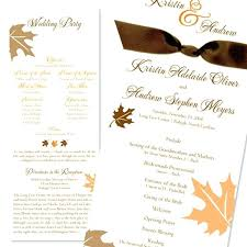 Fall Wedding Invitation Wording Fall Leaves Ribbon Wedding Invites