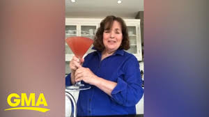 Ina Garten shows us how to make her massive cosmopolitan for a virtual  cocktail party - YouTube