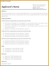 Download Resume Templates Simple English Resume Template Free Download With Free Resume Templates For