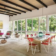 step inside an artful sag harbor home with cool midcentury style hamptons cottages gardens august 15 2018 hamptons