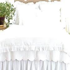 white ruffle duvet cover ruffled duvet cover pine cone hill bedding set ships free ruffle duvet